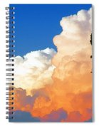 Sunkissed Storm Cloud Spiral Notebook