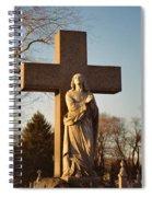 Sunlight And Shadows Spiral Notebook