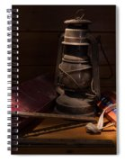 Sunlight In The Workshop Spiral Notebook