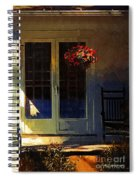 Sunlight On Scarlet - New England Autumn Spiral Notebook