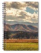 Sunlight Rains Down Spiral Notebook
