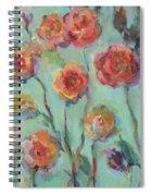 Sunlit Garden Spiral Notebook