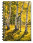 Sunny Birch Spiral Notebook
