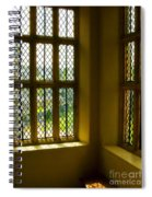 Sunny Corner At Montacute House  Spiral Notebook