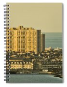 Sunny Day In Atlantic City Spiral Notebook