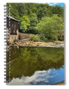 Sunny Days At Mcconnells Mill Spiral Notebook