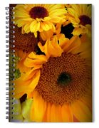 Sunny Easter Bouquet Spiral Notebook