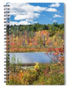 Sunny Fall Day Spiral Notebook