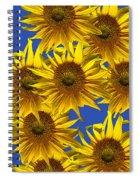 Sunny Gets Blue Spiral Notebook