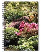 Sunny Japanese Garden Spiral Notebook