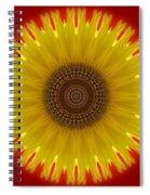 Sunny Kaleidoscope Spiral Notebook