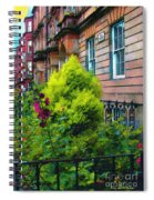 Sunny Morning Mayfair Spiral Notebook
