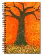 Sunny Rain Spiral Notebook