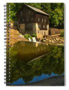 Sunny Refelctions In Slippery Rock Creek Spiral Notebook