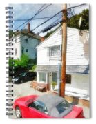 Sunny Side Of The Street Spiral Notebook
