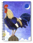 Sunny The Rooster Spiral Notebook