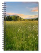 Sunny Valley Sunrise Spiral Notebook