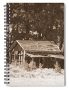 Sunny With Two Porches Spiral Notebook