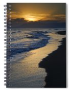 Sunrays Over The Sea Spiral Notebook