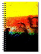 Sunrise Above The Trees Spiral Notebook