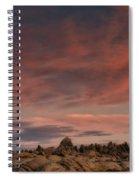 Sunrise Alabama Hills Near Lone Pine Ca Mg 0619 Spiral Notebook