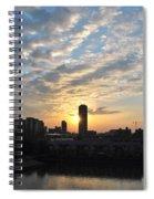 Sunrise Arise Buffalo Ny V1 Spiral Notebook