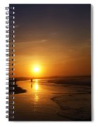 Sunrise At Atlantic City Spiral Notebook