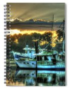 Sunrise At Billy's Spiral Notebook