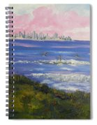 Sunrise At Burliegh Heads Spiral Notebook