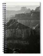 Sunrise At Cape Royal Point Spiral Notebook