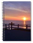 Sunrise At Cape Spear St Johns Newfoundland Spiral Notebook