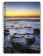Sunrise At Cave Point Spiral Notebook