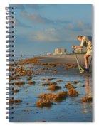 Sunrise At Cocoa Beach Spiral Notebook
