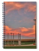 Sunrise At Field Of Dreams Spiral Notebook