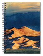 Sunrise At Great Sand Dunes Spiral Notebook