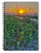 Sunrise At Myrtle Beach Spiral Notebook