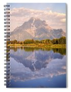 Sunrise At Oxbow Bend 2 Spiral Notebook