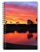 Sunrise At Polly's Spiral Notebook