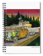 Port Madison Sunrise Spiral Notebook
