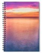 Summer Sunrise Selwick Bay Flamborough Spiral Notebook