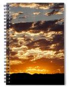 Sunrise At Spirit Lake Sanctuary 20140710 0604 Spiral Notebook