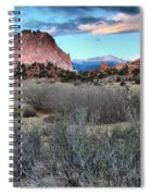 Sunrise At The Gods Spiral Notebook