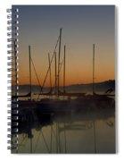 Sunrise At The Marina - Lake Nockamixon State Park Spiral Notebook