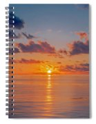 Sunrise At The Seychelles Spiral Notebook