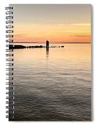 Sunrise At The Straits Spiral Notebook