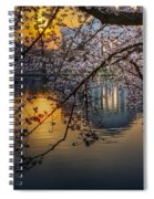 Sunrise At The Thomas Jefferson Memorial Spiral Notebook