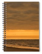 Sunrise Bicycle Spiral Notebook