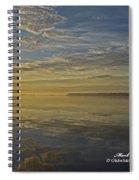Sunrise Biloxi Ms Dec 2 2013 Spiral Notebook