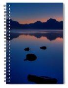 Sunrise Blues Spiral Notebook