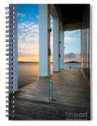 Sunrise Boardwalk Spiral Notebook